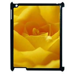 Yellow Rose Apple Ipad 2 Case (black) by Siebenhuehner