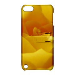 Yellow Rose Apple Ipod Touch 5 Hardshell Case With Stand by Siebenhuehner