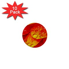 Waterdrops 1  Mini Button (10 Pack) by Siebenhuehner