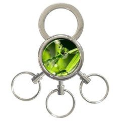 Waterdrops 3 Ring Key Chain by Siebenhuehner