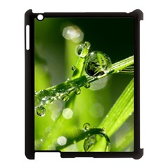 Waterdrops Apple Ipad 3/4 Case (black) by Siebenhuehner