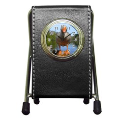 Geese Stationery Holder Clock by Siebenhuehner