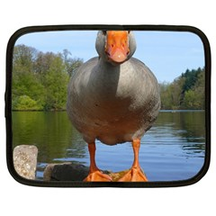 Geese Netbook Case (large) by Siebenhuehner