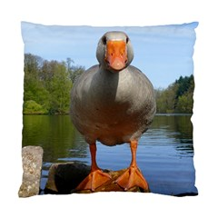 Geese Cushion Case (single Sided)  by Siebenhuehner