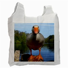 Geese Recycle Bag (one Side) by Siebenhuehner