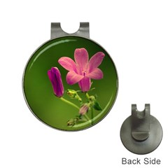 Campanula Close Up Hat Clip With Golf Ball Marker by Siebenhuehner