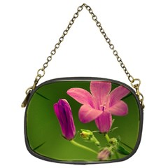 Campanula Close Up Chain Purse (one Side) by Siebenhuehner