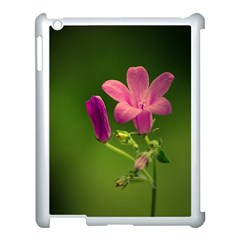 Campanula Close Up Apple Ipad 3/4 Case (white)
