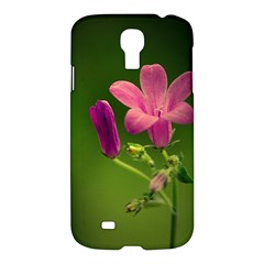 Campanula Close Up Samsung Galaxy S4 I9500/i9505 Hardshell Case by Siebenhuehner