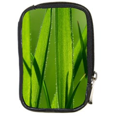 Grass Compact Camera Leather Case by Siebenhuehner