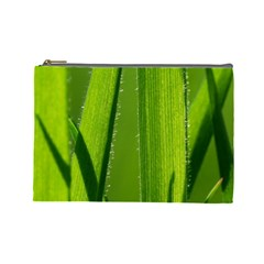 Grass Cosmetic Bag (large) by Siebenhuehner