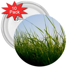 Grass 3  Button (10 Pack) by Siebenhuehner