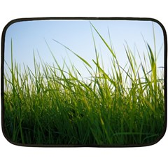 Grass Mini Fleece Blanket (two Sided) by Siebenhuehner