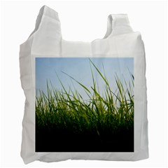 Grass Recycle Bag (two Sides) by Siebenhuehner