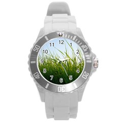 Grass Plastic Sport Watch (large) by Siebenhuehner