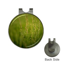 Grass Hat Clip With Golf Ball Marker by Siebenhuehner