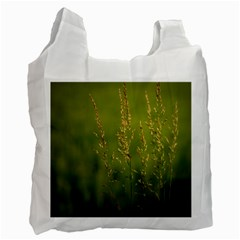 Grass Recycle Bag (one Side) by Siebenhuehner