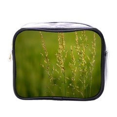 Grass Mini Travel Toiletry Bag (one Side) by Siebenhuehner