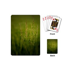 Grass Playing Cards (mini) by Siebenhuehner
