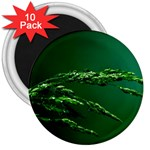 Waterdrops 3  Button Magnet (10 pack) Front