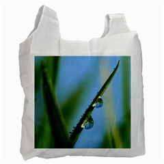 Waterdrops Recycle Bag (one Side) by Siebenhuehner