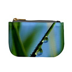 Waterdrops Coin Change Purse by Siebenhuehner