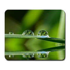 Waterdrops Large Mouse Pad (rectangle) by Siebenhuehner