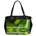 Waterdrops Oversize Office Handbag (Two Sides) Front
