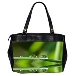Waterdrops Oversize Office Handbag (Two Sides) Back