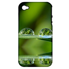 Waterdrops Apple Iphone 4/4s Hardshell Case (pc+silicone) by Siebenhuehner