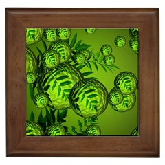 Magic Balls Framed Ceramic Tile by Siebenhuehner