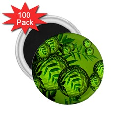 Magic Balls 2 25  Button Magnet (100 Pack) by Siebenhuehner