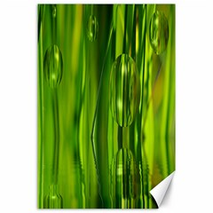 Green Bubbles  Canvas 24  X 36  (unframed) by Siebenhuehner