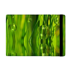 Green Bubbles  Apple Ipad Mini Flip Case by Siebenhuehner