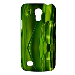 Green Bubbles  Samsung Galaxy S4 Mini Hardshell Case  by Siebenhuehner