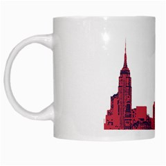 Skyline White Coffee Mug by PaolAllen