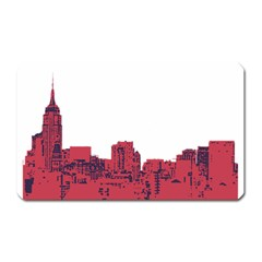 Skyline Magnet (rectangular)