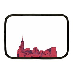 Skyline Netbook Case (medium) by PaolAllen
