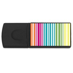 Color Fun 4gb Usb Flash Drive (rectangle)