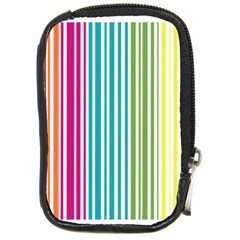 Color Fun Compact Camera Leather Case by PaolAllen
