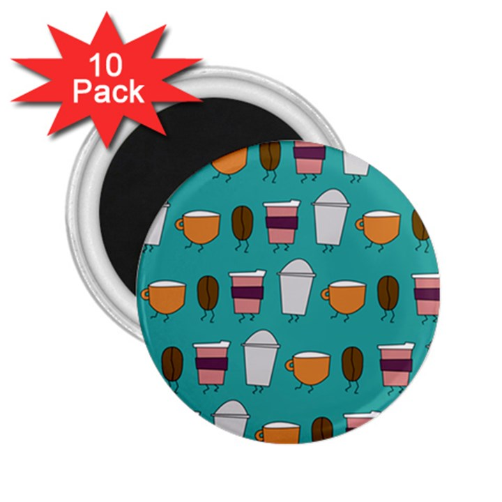 Time for coffee 2.25  Button Magnet (10 pack)
