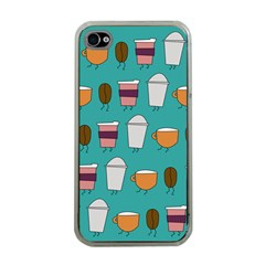 Time For Coffee Apple Iphone 4 Case (clear) by PaolAllen