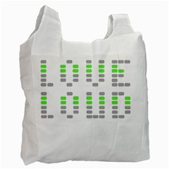 Loveloud Recycle Bag (one Side) by PaolAllen