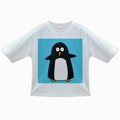 Hello Penguin Baby T Shirt by PaolAllen
