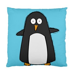 Hello Penguin Cushion Case (single Sided)  by PaolAllen