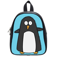 Hello Penguin School Bag (small) by PaolAllen