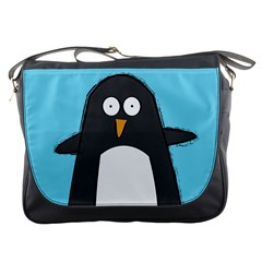 Hello Penguin Messenger Bag by PaolAllen