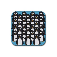 Penguin Group Drink Coasters 4 Pack (square) by PaolAllen