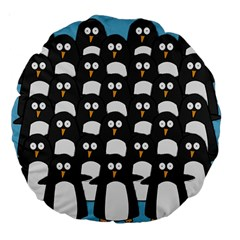 Penguin Group 18  Premium Round Cushion
