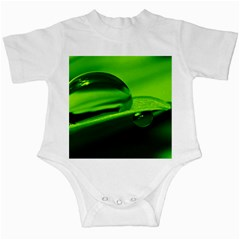 Green Drop Infant Bodysuit by Siebenhuehner